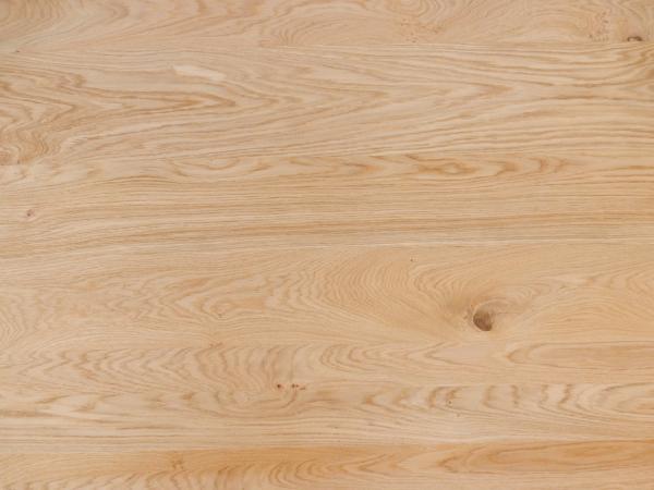Edelfurnierte Platte europäische Eiche Träger Tischlerplatte Stab Qualität N/NR Brettcharakter schlicht geschliffen